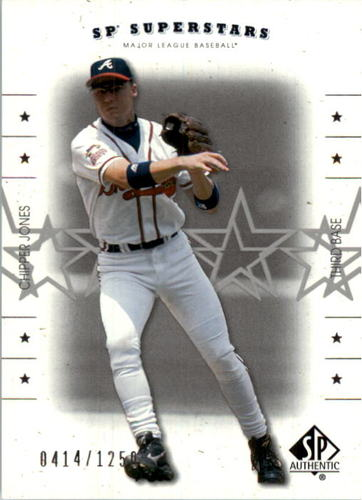 Photo of 2001 SP Authentic #149 Chipper Jones SS