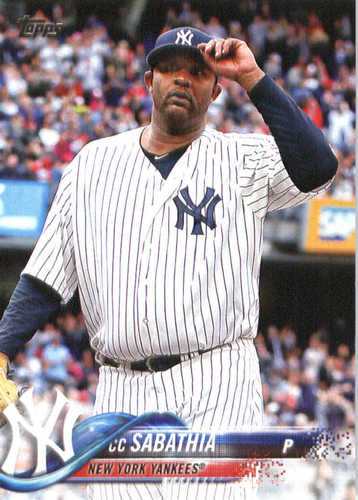 Photo of 2018 Topps #236 CC Sabathia