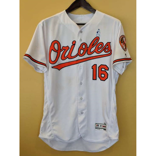 Photo of Trey Mancini - Home Father's Day Jersey: Game-Used