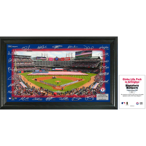 Photo of Texas Rangers 2018 Signature Field