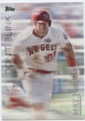 Photo of 2018 Topps Update Don't Blink #DB5 Mike Trout