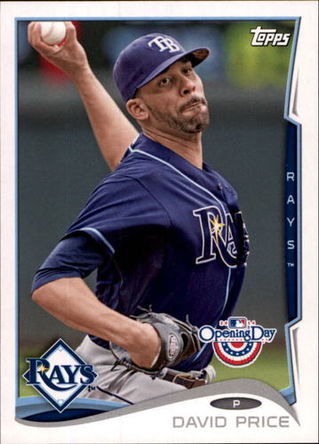 Photo of 2014 Topps Opening Day #126 David Price