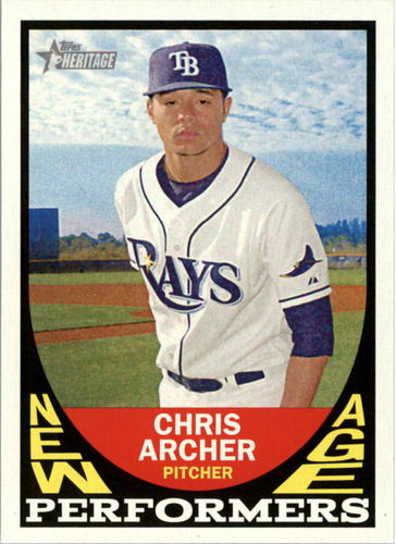 Photo of 2016 Topps Heritage New Age Performers #NAPCA Chris Archer