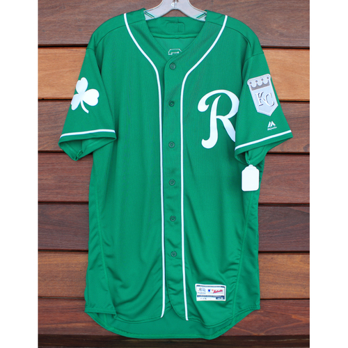 Photo of Team-Issued St. Patrick's Day Jersey: Ricky Aracena (Size - 44)