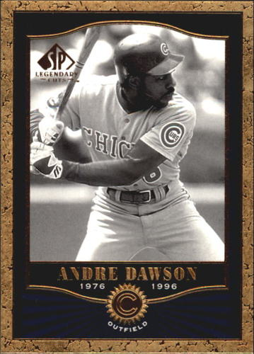 Photo of 2001 SP Legendary Cuts #19 Andre Dawson