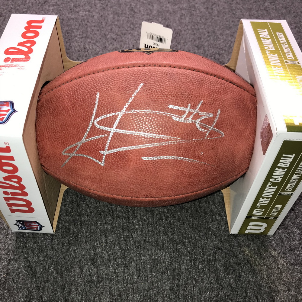 PCC - Bears Haha Clinton-Dix Signed Authentic Football