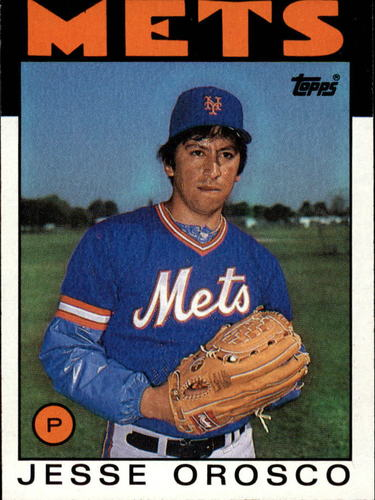Photo of 1986 Topps #465 Jesse Orosco