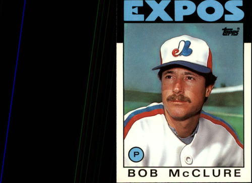Photo of 1986 Topps Traded #71T Bob McClure