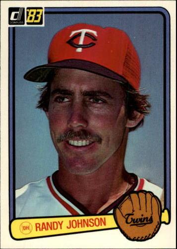 Photo of 1983 Donruss #305 Randy Johnson RC