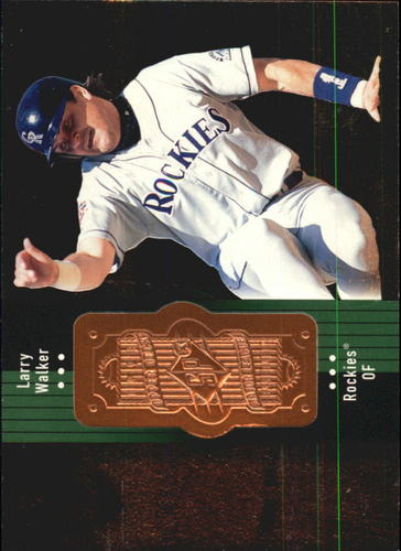 Photo of 1998 SPx Finite #80 Larry Walker