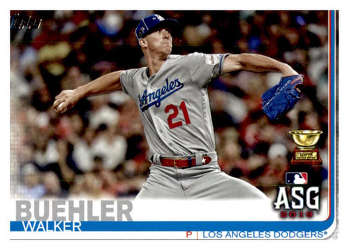 Photo of 2019 Topps Update #US8 Walker Buehler AS