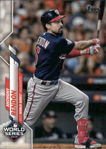 Photo of 2020 Topps #239 Anthony Rendon WSH
