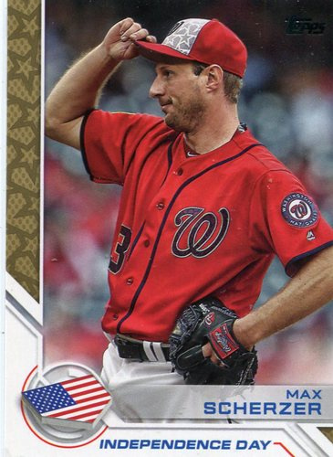 Photo of 2017 Topps Independence Day #ID18 Max Scherzer