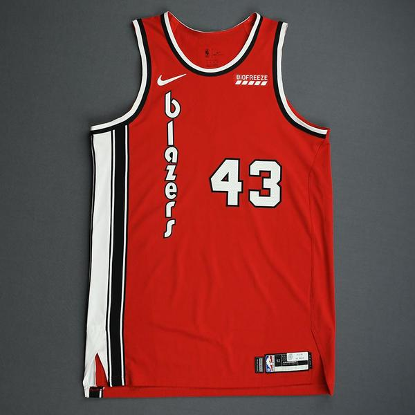 Image of Anthony Tolliver - Portland Trail Blazers - Game-Worn Classic Edition 1975-77 Road Jersey - 2019-20 NBA Season