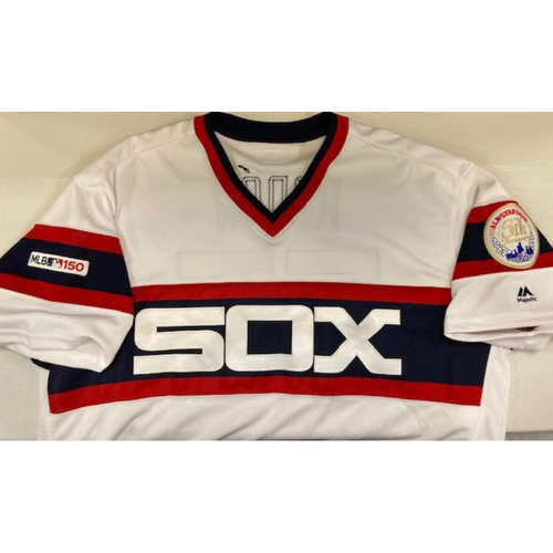 Photo of Carlos Rodon Team Issued 1983 Jersey from 2019 - Size 48