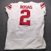 STS - Giants Aldrick Rosas Game Used Jersey (11/10/19) Size 44