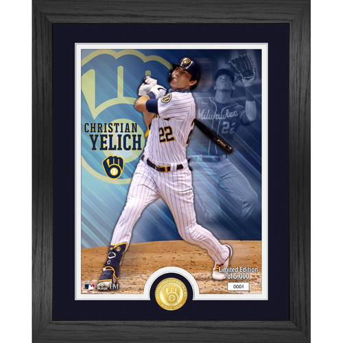 Photo of  Christian Yelich Bronze Coin Photo Mint