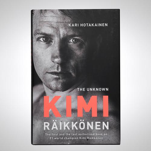 Photo of Kimi Raikkonen 2018 Signed 'The Unknown' Biography