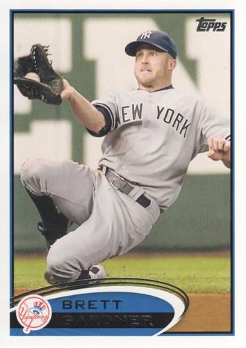 Photo of 2012 Topps #635 Brett Gardner