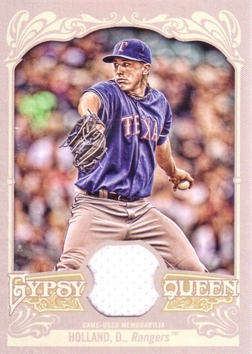 Photo of 2012 Topps Gypsy Queen Relics #DHO Derek Holland