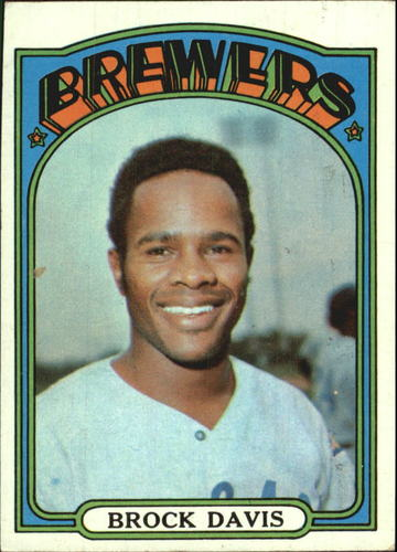 Photo of 1972 Topps #161 Brock Davis