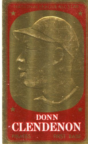 Photo of 1965 Topps Embossed #9 Donn Clendenon