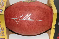 NFL - RAMS TRE MASON SIGNED AUTHENTIC FOOTBALL