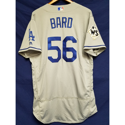 Photo of Josh Bard 2017 Road World Series Team-Issued Jersey