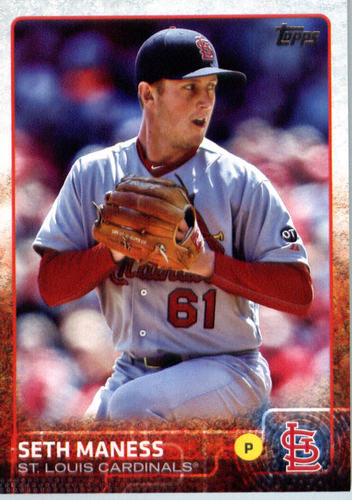 Photo of 2015 Topps Update #US165 Seth Maness