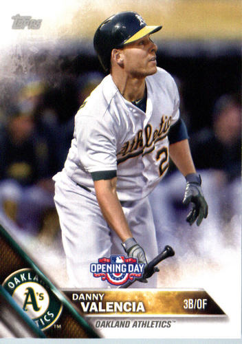 Photo of 2016 Topps Opening Day #OD153 Danny Valencia