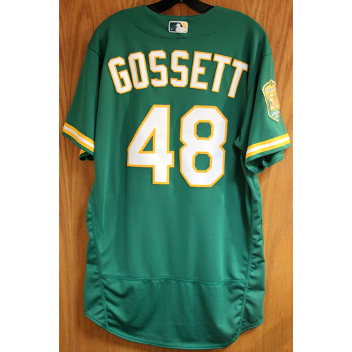 Photo of Daniel Gossett Game-Used Jersey
