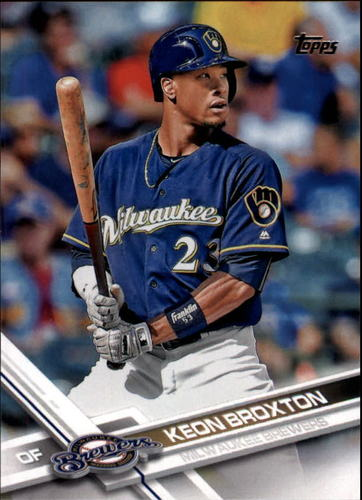 Photo of 2017 Topps #182 Keon Broxton