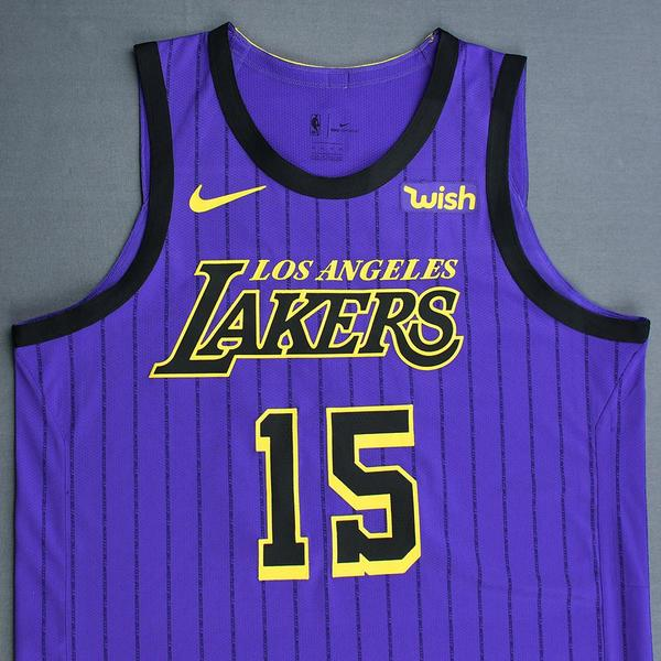 0dae7407758 Moritz Wagner - Los Angeles Lakers - Christmas Day  18 - Game-Worn ...