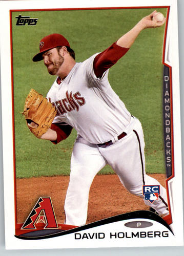 Photo of 2014 Topps #242 David Holmberg RC