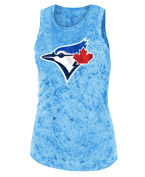 Toronto Blue Jays Women's Mineral Dye Tank Top by Fifth And Ocean