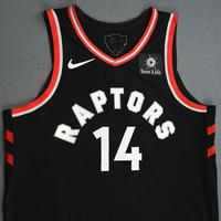 Danny Green - Toronto Raptors - 2019 NBA Finals - Game 3 - Game-Worn Black Statement Edition Jersey