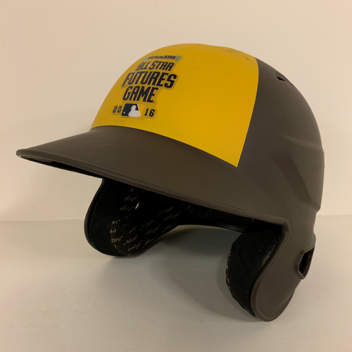 Photo of 2016 All-Star Futures Game - Game Used Batting Helmet - Dominic Smith (New York Mets)