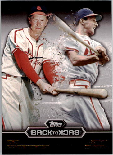Photo of 2016 Topps Back to Back #B2B9 Red Schoendienst/Stan Musial