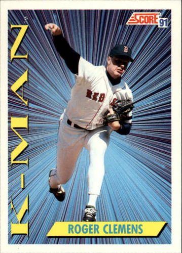 Photo of 1991 Score #684 Roger Clemens KM