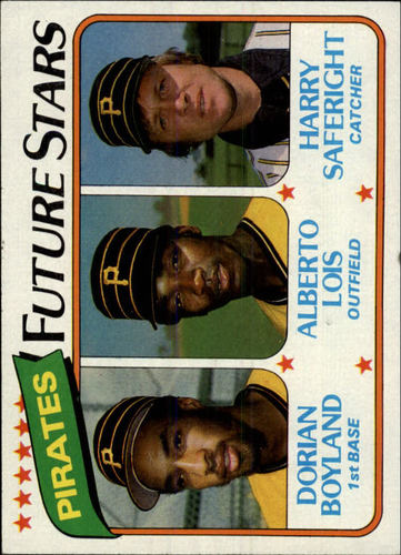 Photo of 1980 Topps #683 Dorian Boyland RC/Alberto Lois RC/Harry Saferight RC