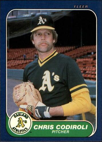 Photo of 1986 Fleer #414 Chris Codiroli