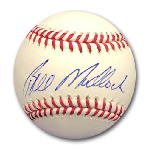 Photo of Bill Madlock Autographed Baseball
