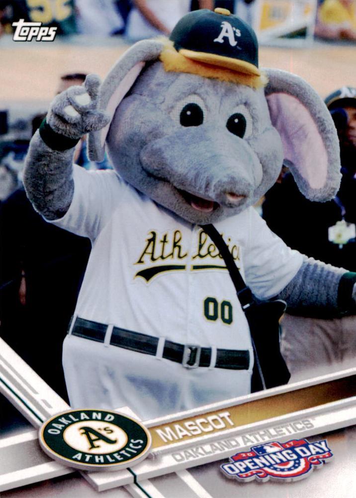 2017 Topps Opening Day Mascots #M17 Athletics Mascot
