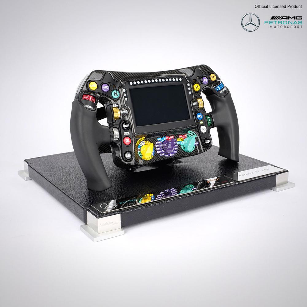 Mercedes-AMG Petronas Motorsport Limited Edition 1:1 2018 Replica Steering Wheel