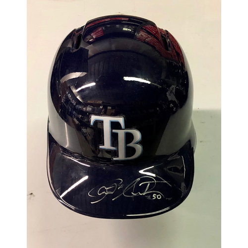 Photo of Team Issued Autographed Helmet: Charlie Morton