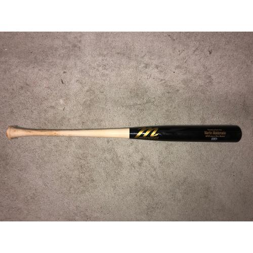 Carlos Correa Game-Used Cracked Bat (7/29/20)