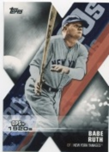 Photo of 2020 Topps Decade of Dominance #DOD1 Babe Ruth