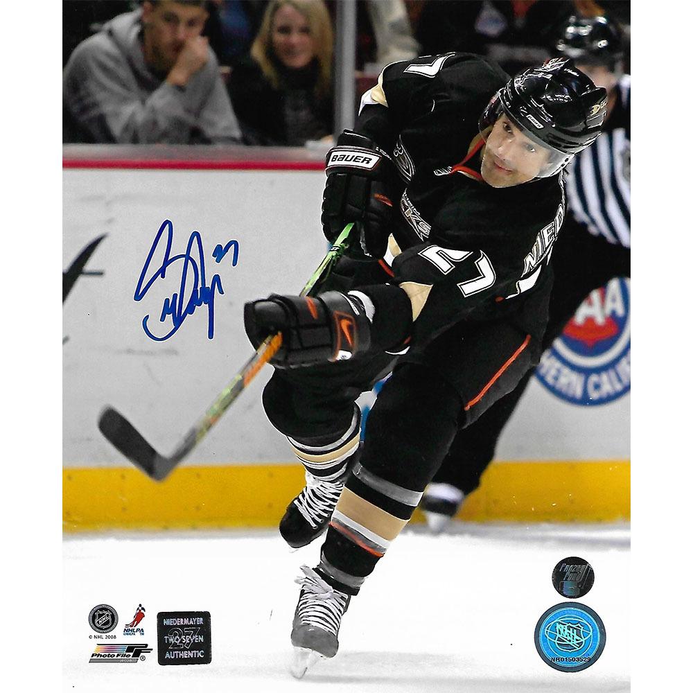 Scott Niedermayer Autographed Anaheim Ducks 8X10 Photo