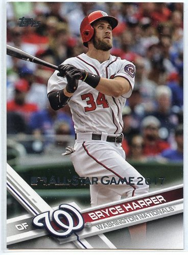 Photo of 2017 Topps All Star Game Silver #34 Bryce Harper