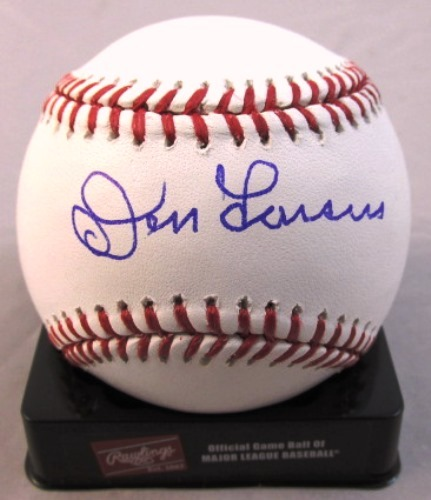 Don Larsen Autographed Baseball